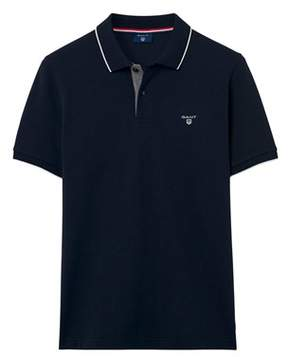 Gant Men's Blue Cotton Polo Shirt.