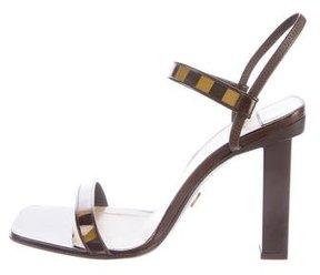 Louis Vuitton Damier Slingback Sandals