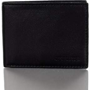 Steve Madden Mens Leather RFID Protection Slimfold Wallet