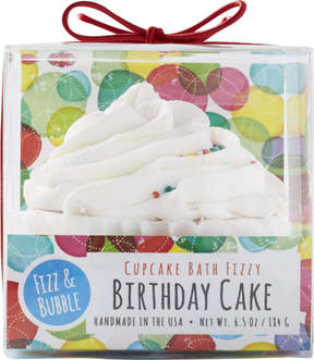 Fizz & Bubble Birthday Cake Bubble Bath Cupcake