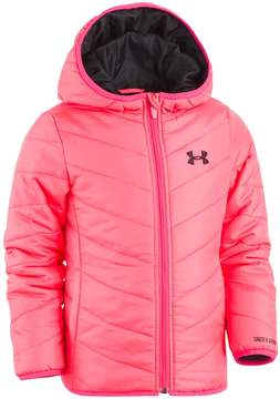 Under Armour Baby Girl Pink Midweight Premier Puffer Jacket