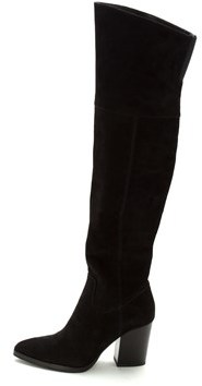 Marc Jacobs Womens Alana Pointed Toe Over Knee Fashion Boots.
