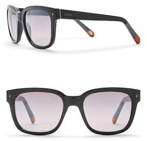 Fossil 53mm Square Sunglasses