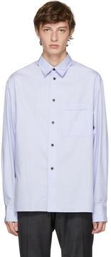 Lanvin Purple Pocket Shirt