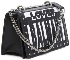 Balmain Flap Love Tote