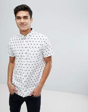 Brave Soul Star Print Shirt