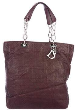 Christian Dior Cannage Soft Leather Shopper Tote