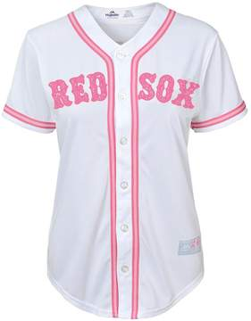 Majestic Girls 7-16 Boston Red Sox Fashion Jersey