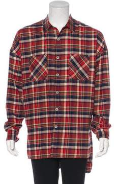 Fear Of God Plaid Flannel Shirt