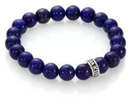 King Baby Studio Lapis Beaded Bracelet