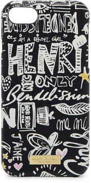 Henri Bendel Graffiti Graphic Case For Iphone 7 / 8
