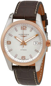 Longines Conquest Classic Automatic Silver Dial Men's Watch