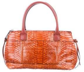 Brunello Cucinelli Python Handle Bag