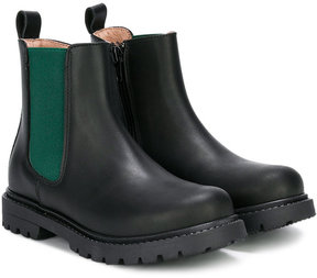 Fendi zipped chelsea boots