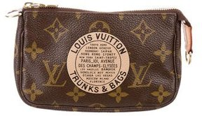 Louis Vuitton Monogram Mini Trunks & Bags Pochette - BROWN - STYLE