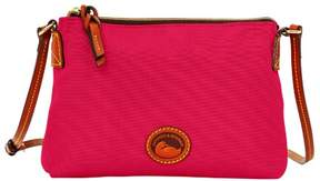 Dooney & Bourke Nylon Crossbody Pouchette Shoulder Bag - PINK - STYLE