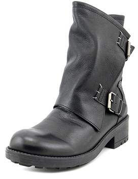 Coolway Blondy Round Toe Leather Mid Calf Boot.