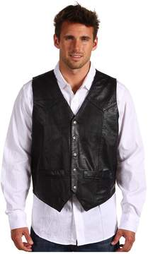 Roper Lamb Skin Western Vest Men's Vest