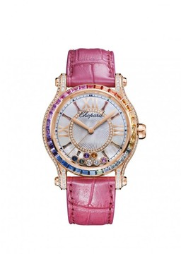 Chopard Happy Sport Mother of Pearl with Diamonds Dial Watch