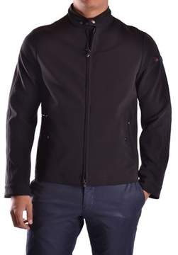 Peuterey Men's Black Acetate Outerwear Jacket.