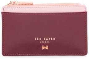 Ted Baker Avens Leather Zippered Card Holder