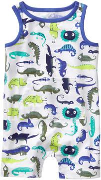 Gymboree Sea Blue Lizard Creatures Romper - Newborn & Infant