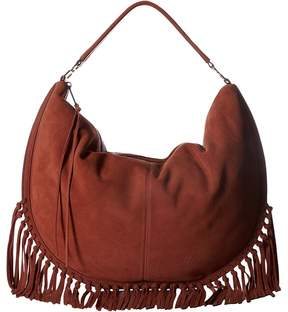 Rebecca Minkoff Rapture Large Convertible Hobo Hobo Handbags - BRICK - STYLE