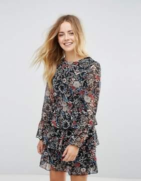 Brave Soul Floral 3 Tier Dress