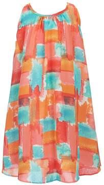 Bonnie Jean Little Girls 2T-6X Printed Sleeveless Dress