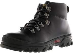 Polo Ralph Lauren Men's Hainsworth Black / High-Top Leather Boot - 8M