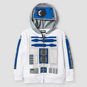 Star Wars Toddler Boys' R2D2 Costume Hoodie - White