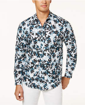 INC International Concepts Men's Floral Shirt, Created for Macy's