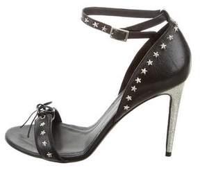 Rodarte Embellished Leather Sandals