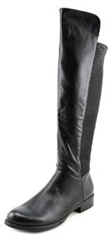 XOXO Fiona Round Toe Leather Knee High Boot.