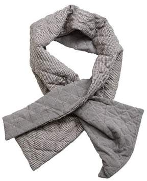 MANGO Printed quilted scarf