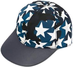 Valentino star camouflage cap