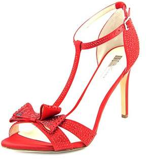 INC International Concepts Reesie 2 Women Open Toe Synthetic Red Sandals.