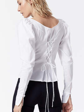 Carbon38 Lace Up Shirt