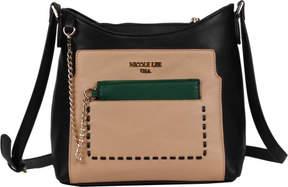 Nicole Lee Kimetha Trio Color Cross Body Bag (Women's)