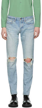 Simon Miller Indigo MM001 Lamar Jeans