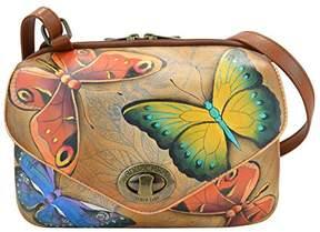 Anuschka Handpainted Painted Convertible Travel Organizer