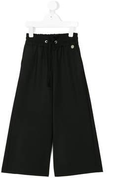 Simonetta drawstring wide-legged trousers