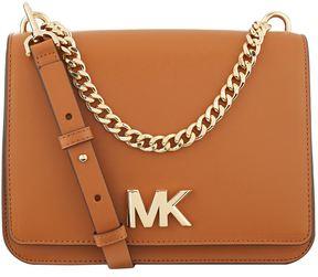Michael Kors Large Mott Shoulder Bag - BROWN - STYLE