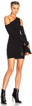 Amiri Off Shoulder Knit Mini Dress
