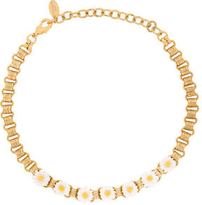 Elizabeth Cole daisy choker necklace