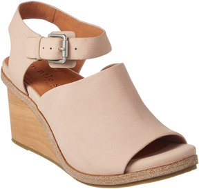 Gentle Souls By Kenneth Cole Gerry Leather Wedge Sandal