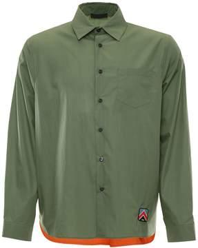 Prada Linea Rossa Techno Cotton Shirt