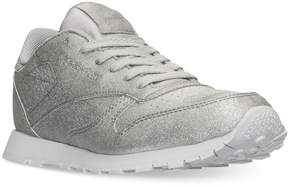 Reebok Girls' Classic Leather Syn Casual Sneakers from Finish Line