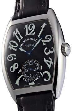 Franck Muller Frank Muller Casablanca 7500 S6 Stainless Steel Mens Watch