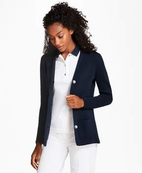 Brooks Brothers Knit Supima Cotton Blazer